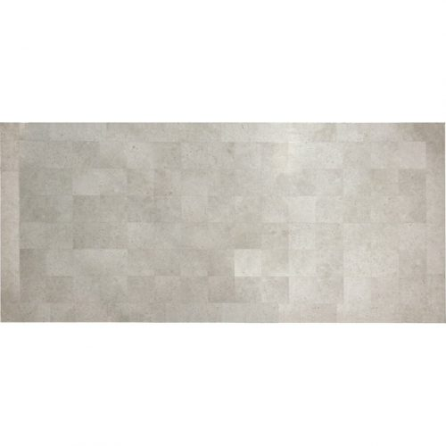 Melton Craft Asia Grey Rectangular