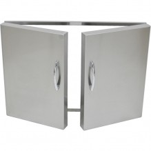 Grand Fire Stainless Steel Double Door