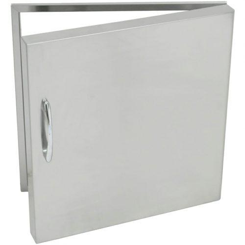 Grand Fire Stainless Steel Single Door