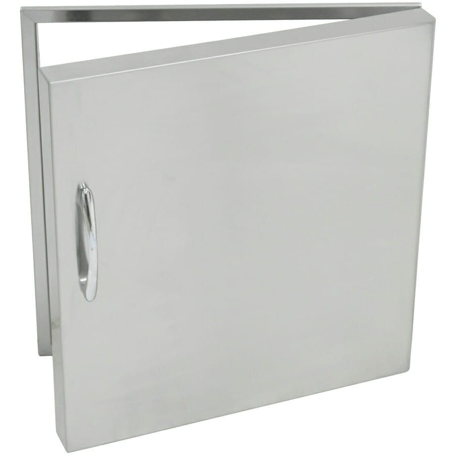 Grand Fire Stainless Steel Single Door