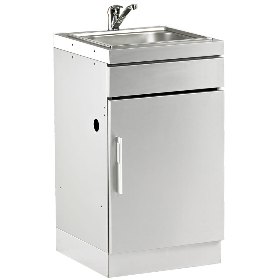 Beefeater SS Cab with Sink Handle on Left - 77010