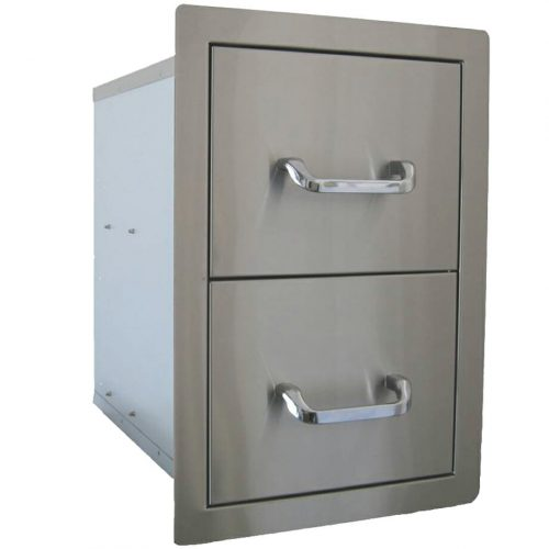 Beefeater SS Double Drawer
