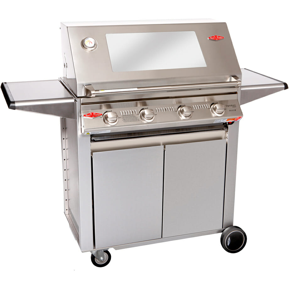 Signature 4 Burner Stainless Designer Trolley