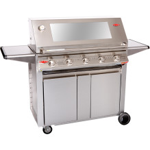 Signature stainless 5 burner designer trolley