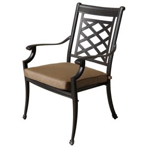 Melton Craft Yarra Chair with cushion