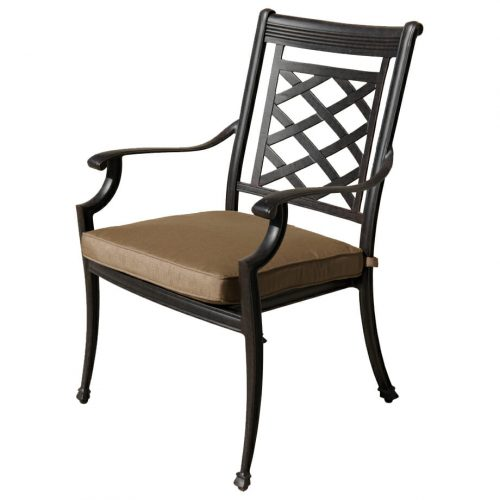 Melton Craft Yarra Chair with cushion
