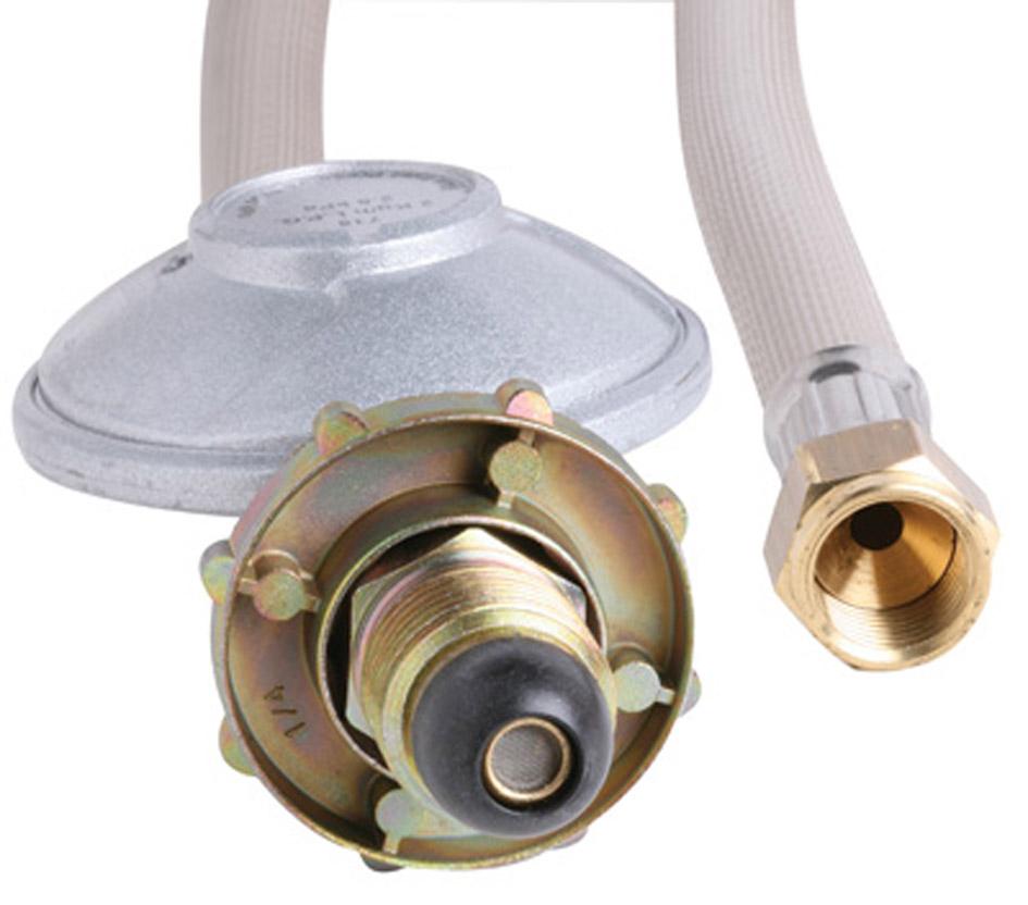 LPG Hose & Reg 38 SAE-PVC