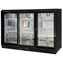 Rhino Commercial 3 Sliding Doors Alfresco Glass Door Fridge SG3S-B