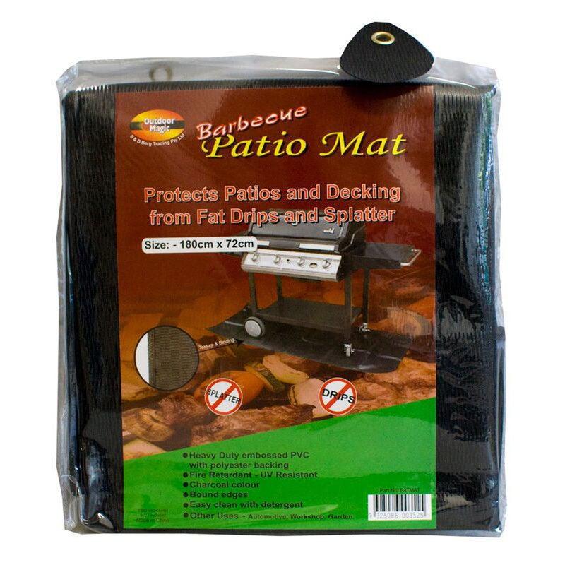 Outdoor Magic - Barbecue Patio Mat