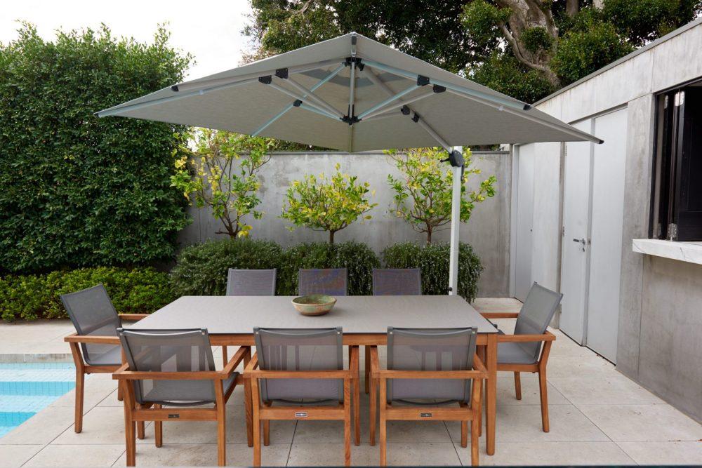 Melton Craft Cantilever Umbrella - St Tropez 3m Square