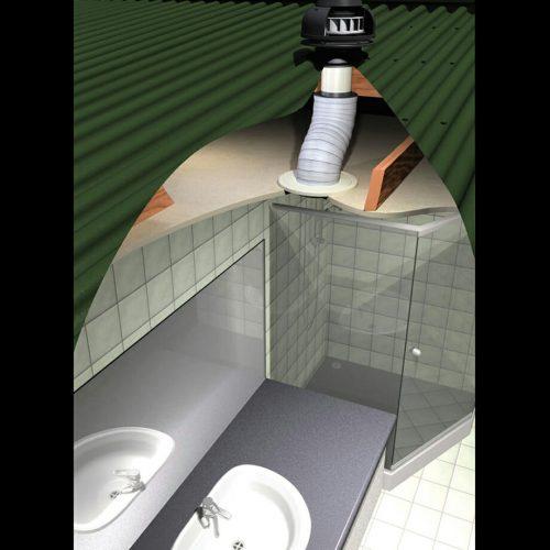 Schweigen BR500-Bathroom Exhaust Fan