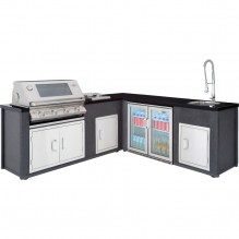 Beefeater Artisan ODK SS Package Plus Fridge and Sink