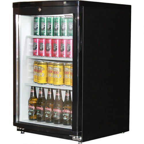Dellware J85 DW Bar Fridge Glass Door Commercial Hospitality