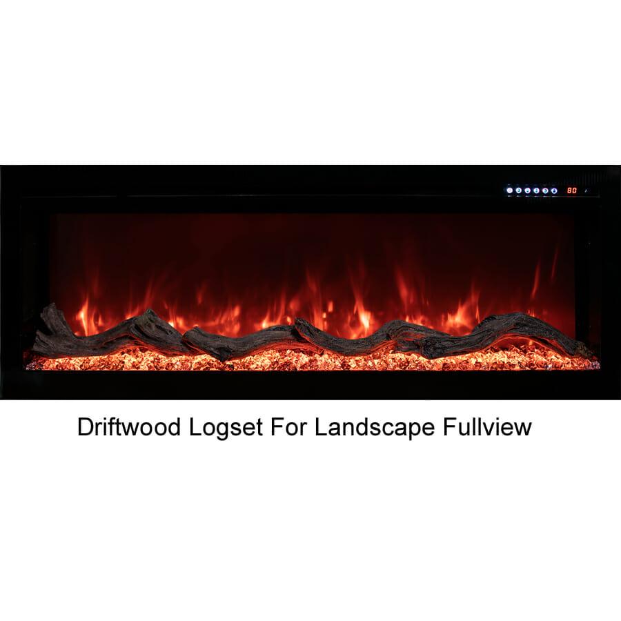Modern Flames 1m Landscape Fullview
