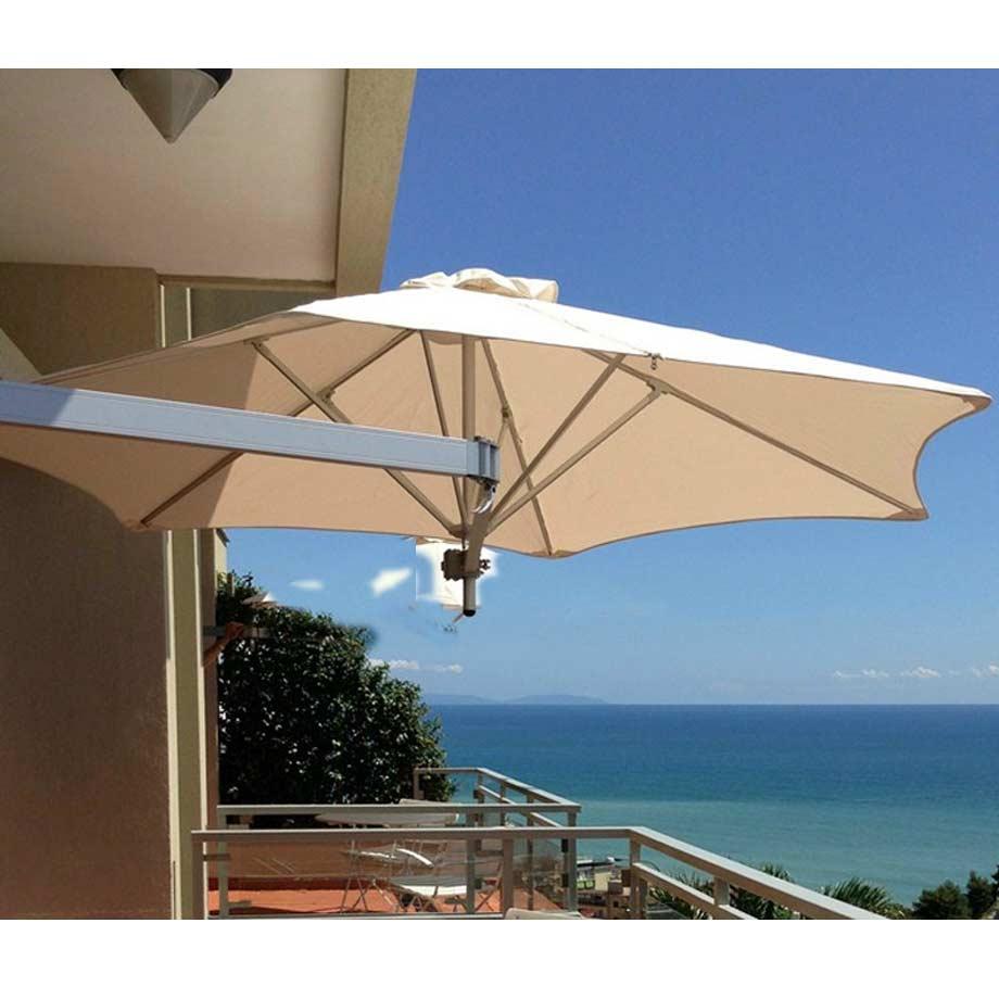 paraflex-evolution-2-7m-hex-natural-wall-mount-umbrella