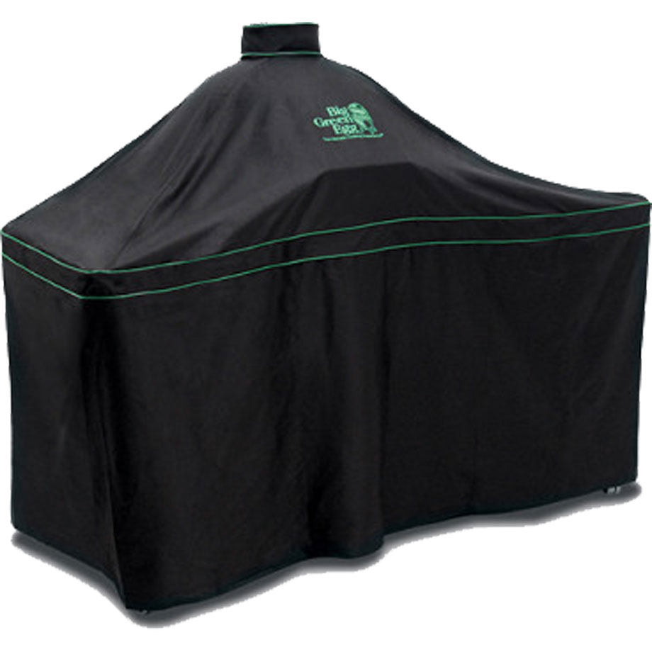 Big Green Egg - Cover - XLarge in Solid Acacia Table ...