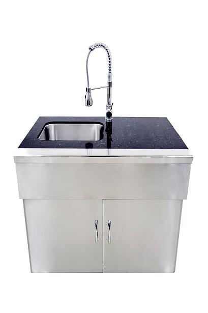 GrandFire Outdoor Kitchen Sink Unit - Deluxe