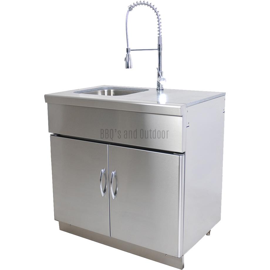 GrandFire Outdoor Kitchen Sink Unit - Classic
