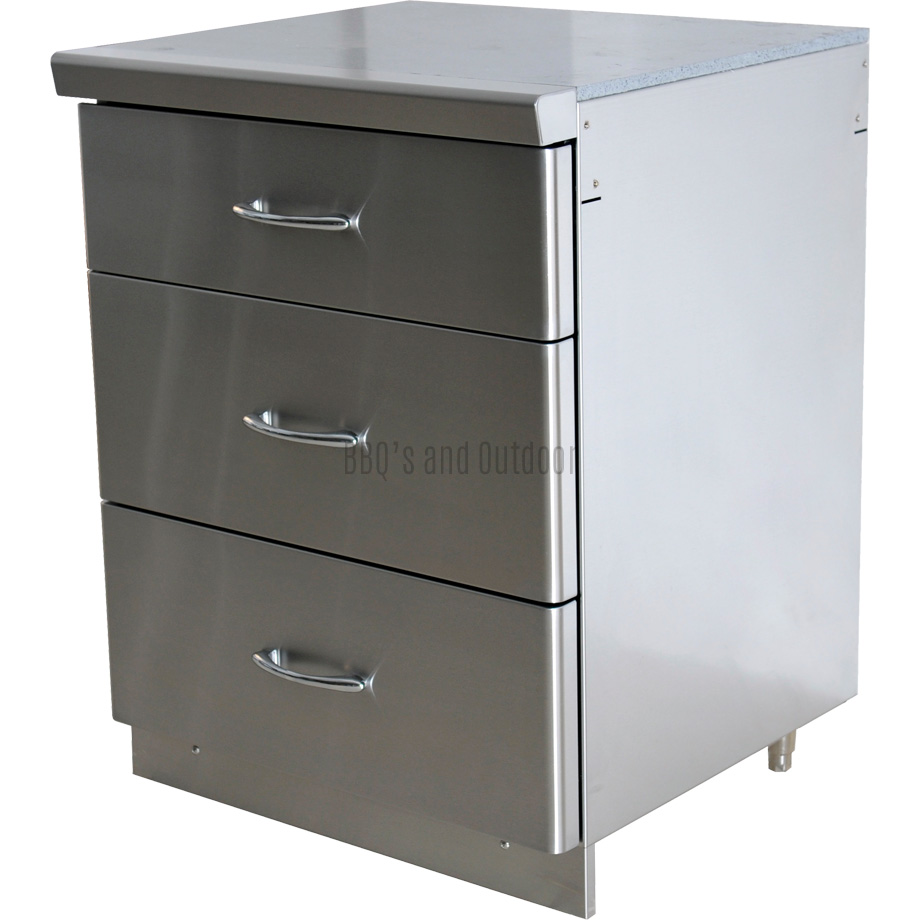 GrandFire Outdoor Kitchen Utility Drawer - Classic