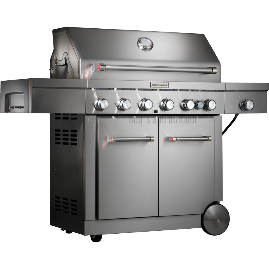 Kitchenaid 6 Burner Trolley Bbq 720 0856gh