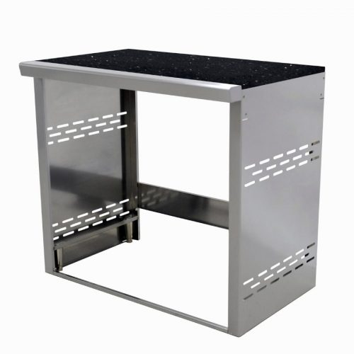GrandFire Outdoor Kitchen Double Fridge Module - Classic
