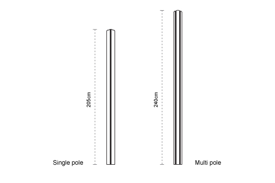 Paraflex Pole
