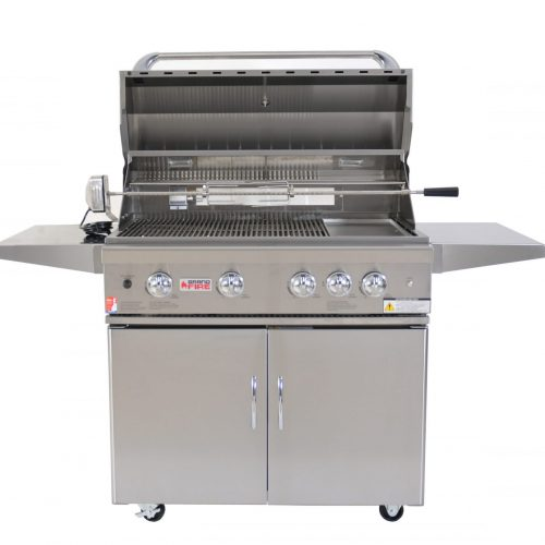 """Grandfire 38"""" Classic BBQ Package - LBS"""
