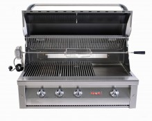 "Grandfire 42"" Deluxe Built In BBQ - LBS"