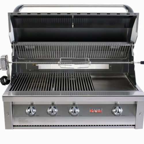 """Grandfire 42"""" Deluxe Built In BBQ - LBS"""
