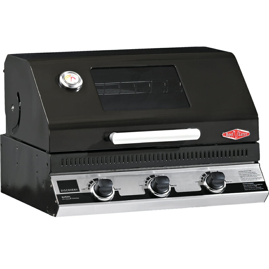 Discovery 1100e 3 BUrner Built In BBQ