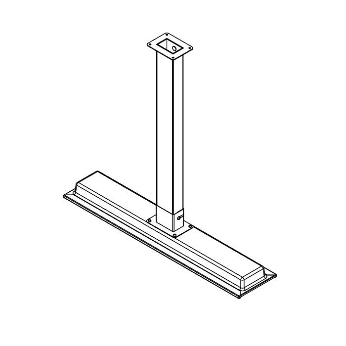 Bromic - Platinum II Electric Heater Suspension Pole