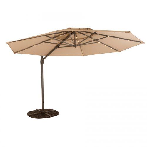 Shelta Umbrella - Windemere LED - 3.3m Octagonal