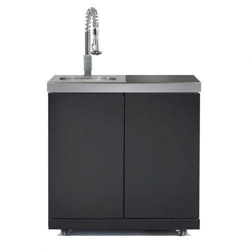 Gasmate - Galaxy Sink, Bin and Storage Module - Black