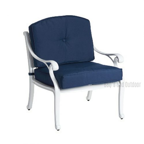 Nassau Deep Seat White and Blue
