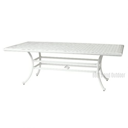 assau White Table 220x117