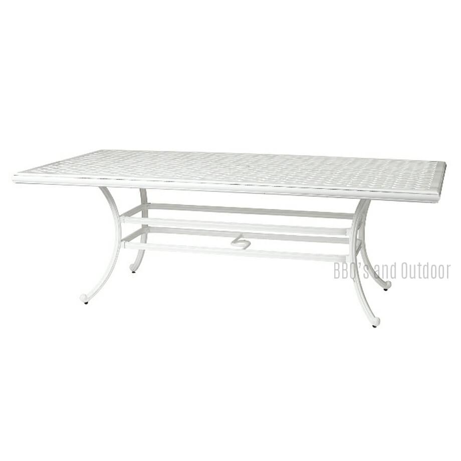assau White Table 220x117