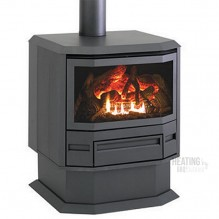 FSPFree Standing Top Flued Heater - Color Charcoal