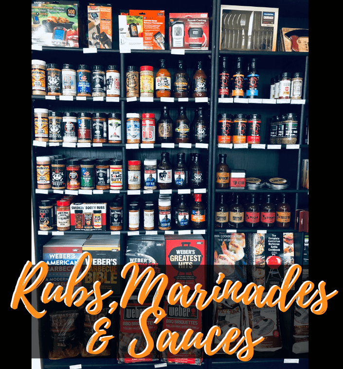 Rubs, Sauces and Marinades Mobile Banner