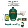 Big Green Egg Large - Built In Package