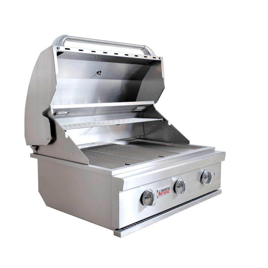 "Grandfire 32"" SilverLine Built In BBQ"