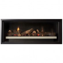 Cannon Latitude 1000 Powerflue Gas Fireplace - Built In