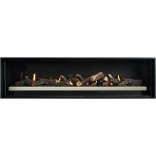 Cannon Latitude 1500 Powerflue Gas Fireplace - Built In