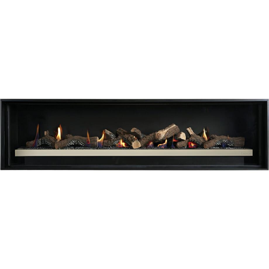 Cannon Latitude 1500 Powerflue Gas Fireplace - Built In