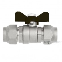 Flare Ball Valve with Nuts