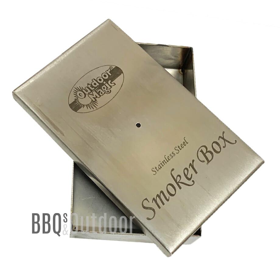 Barbecue smoker box