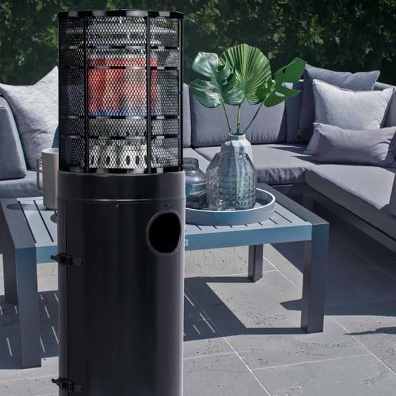 Gasmate - Stellar Black Deluxe Area Heater