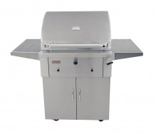 "Grandfire 30"" Charcoal BBQ Trolley"