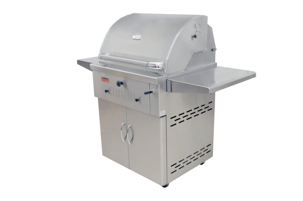 "GrandFire 30"" Charcoal BBQ Trolley - DLX"