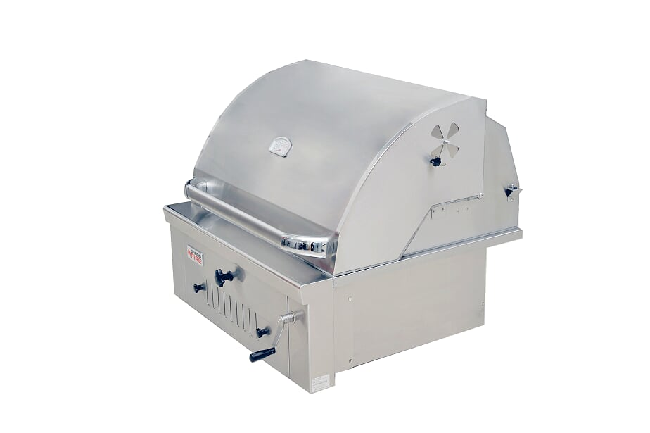 """GrandFire 30"""" Charcoal BBQ Built In - DLX"""