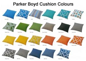 Melton Craft Cushion Colours